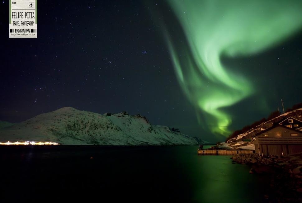 Aurora at Ersfjordbotn, Tromsø