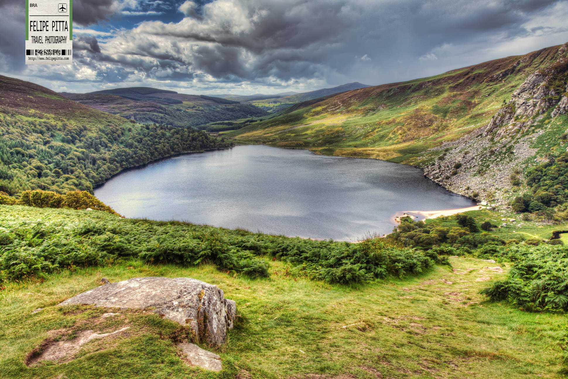 Lough Tay, Wicklow Mountains, Ireland