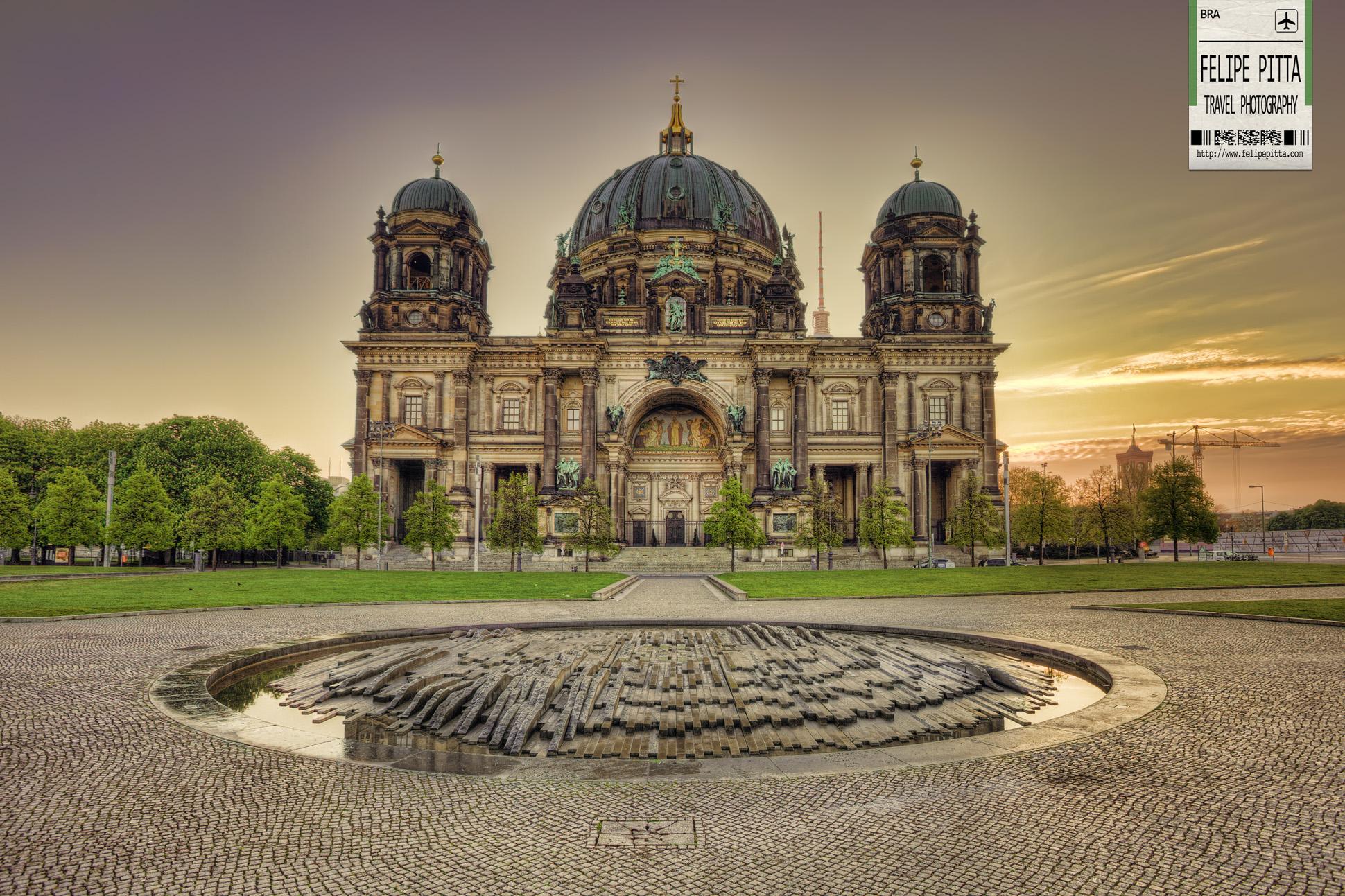 Berlin Cathedral Berliner Dom Facade