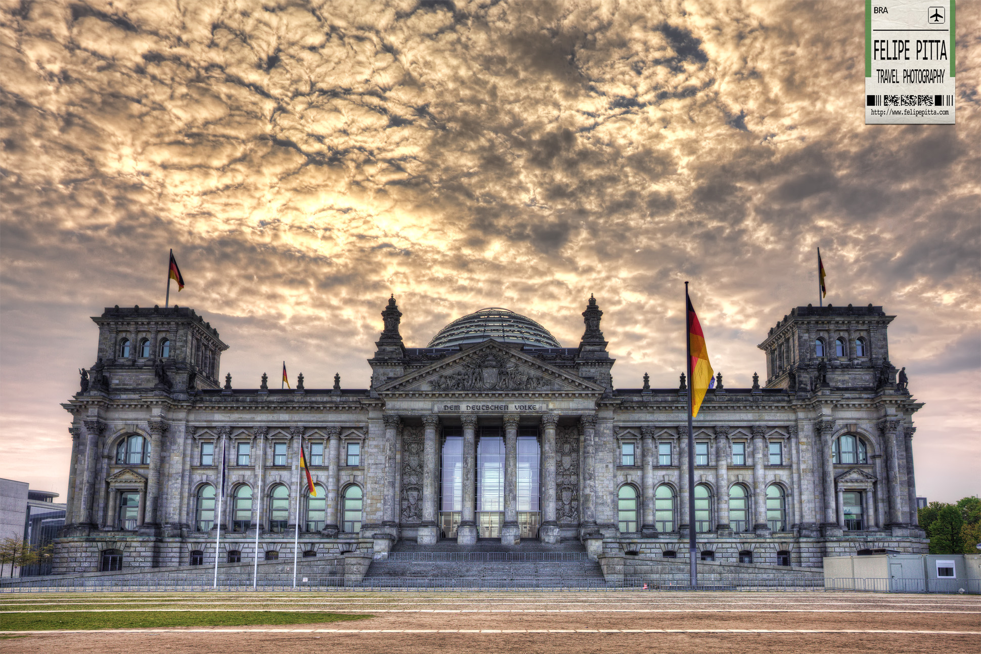 The Reichstag in Berlin - The seat of the German Parliament