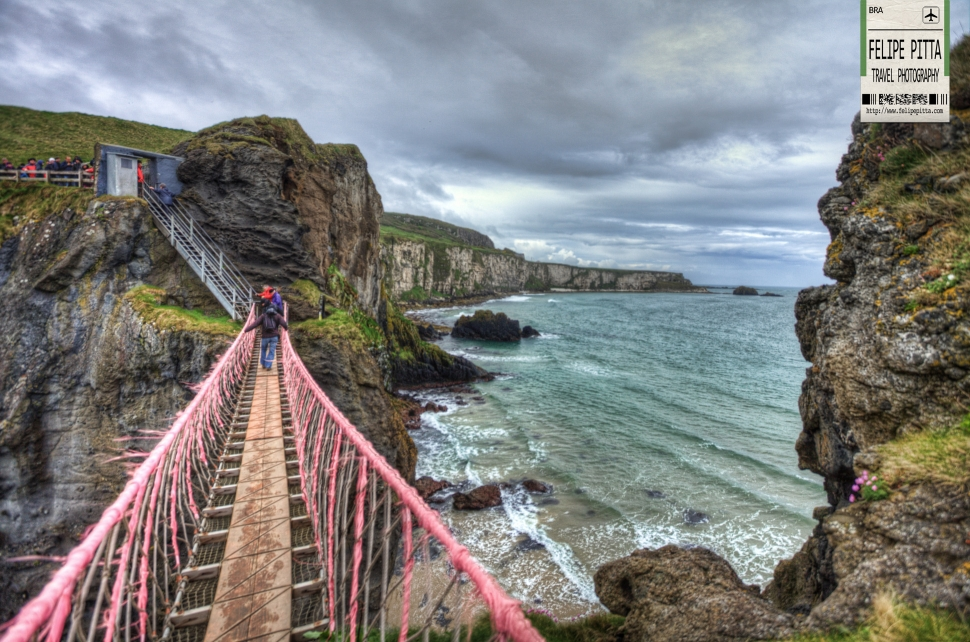 Carrick-a-Rede Rope Bridge - Northern Ireland - UK