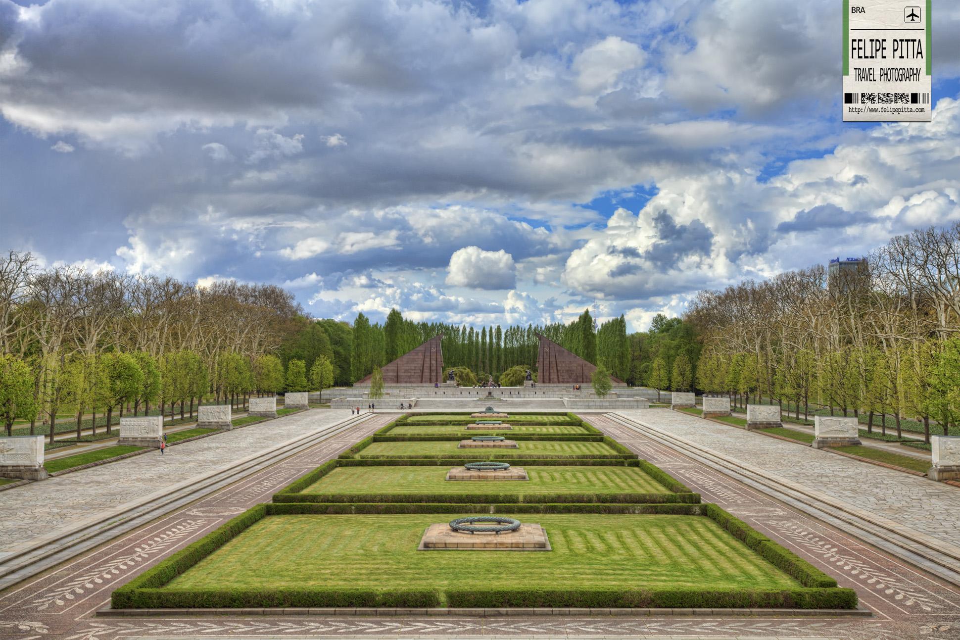 Soviet War Memorial Treptower Park Berlin Germany