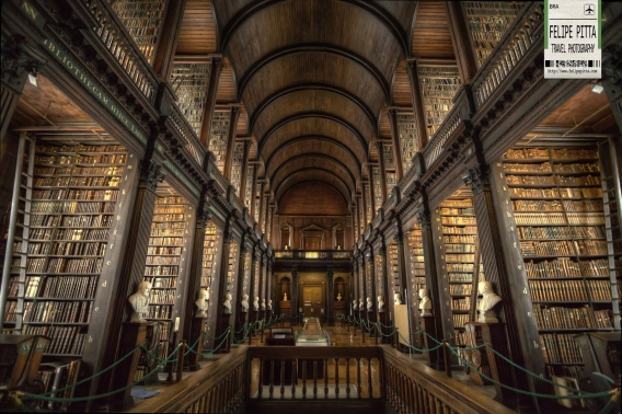 Trinity College Library Is This The Most Beautiful One