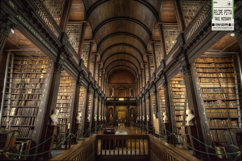 dublin Trinity library college