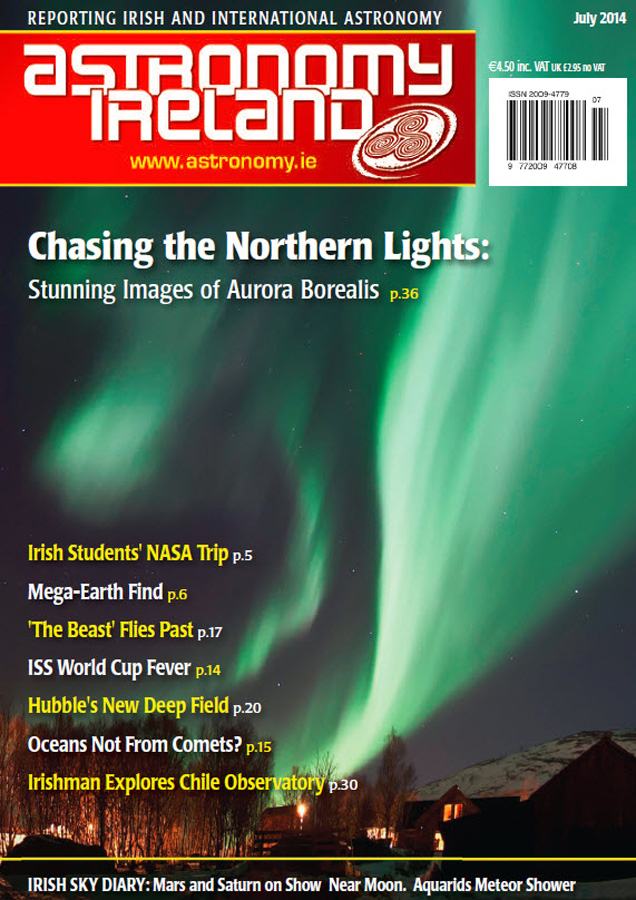 Astronomy Ireland Felipe Pitta Cover July Northern Lights