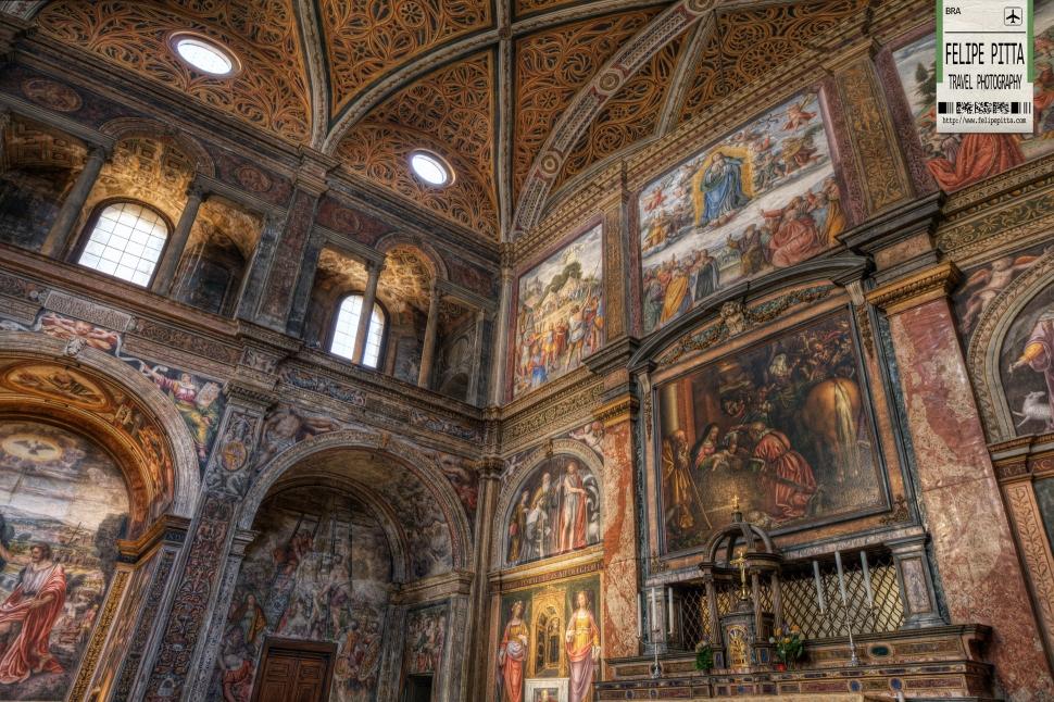 Chiesa di San Maurizio al Monastero Maggiore Church Milan Italy