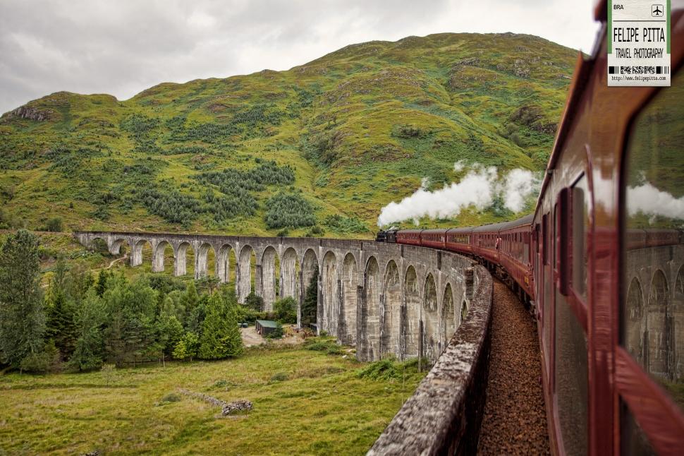 Harry Potter Hogwarts Express Jacobite Fort William Scotland