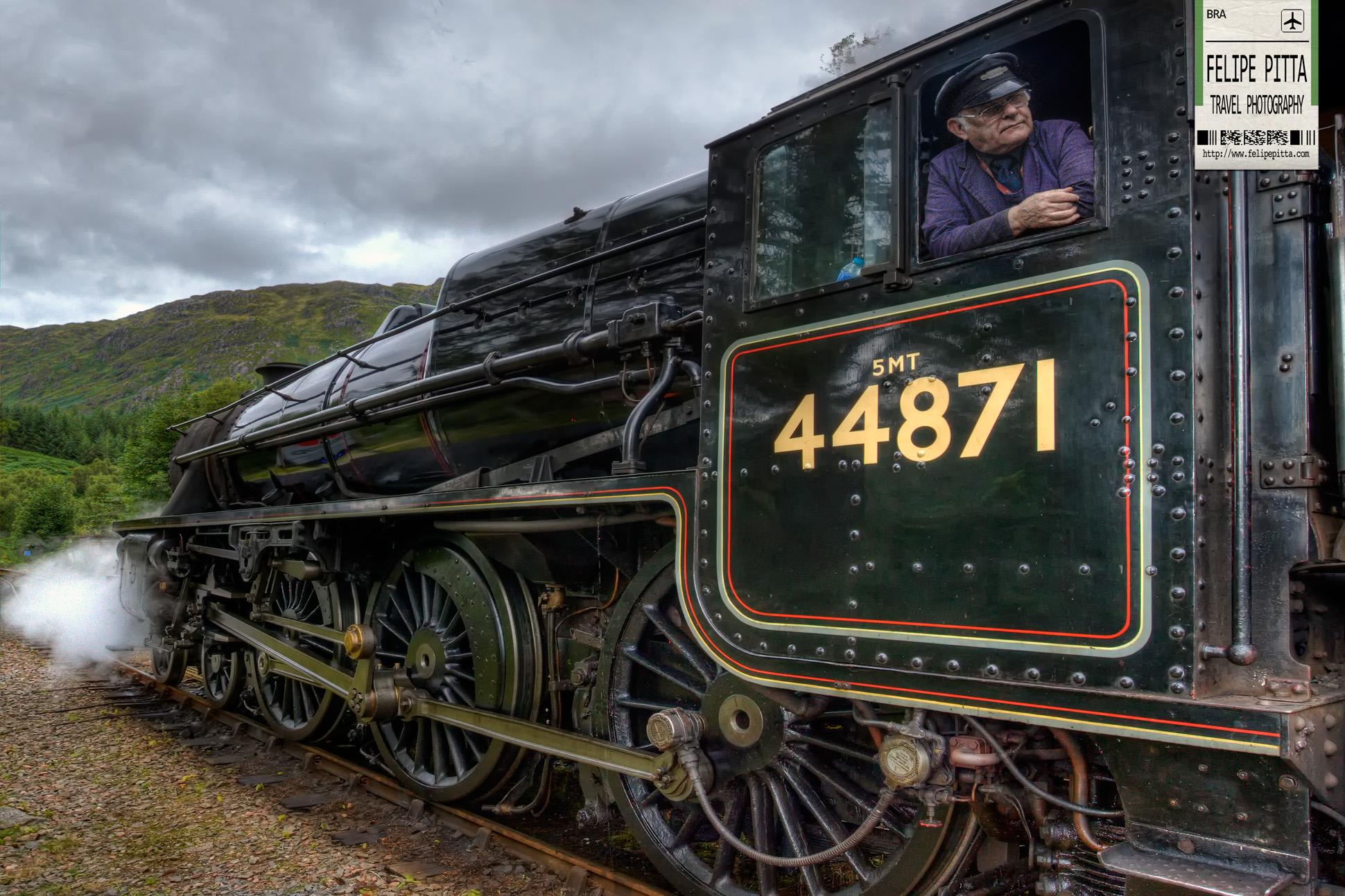 Harry Potter Hogwarts Express Jacobite Fort William Scotland Train