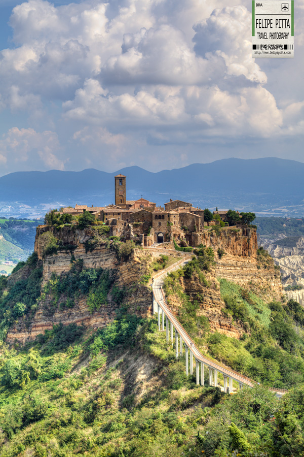 Civita di Bagnoregio Hill Mountain Cliff Italy