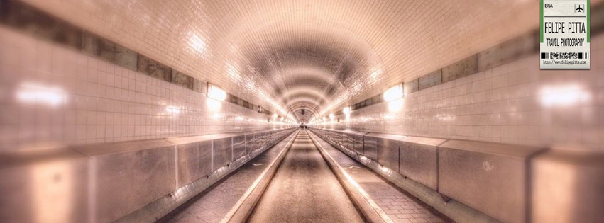 Old Elb Tunnel Hamburg Facebook Cover