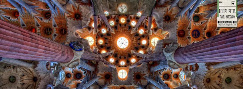 Sagrada Familia Barcelona Spain Facebook Cover