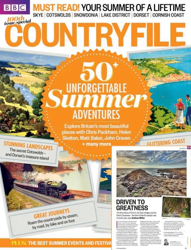 Felipe Pitta BBC Countryfile Magazine UK Northern Ireland Giants Causeway