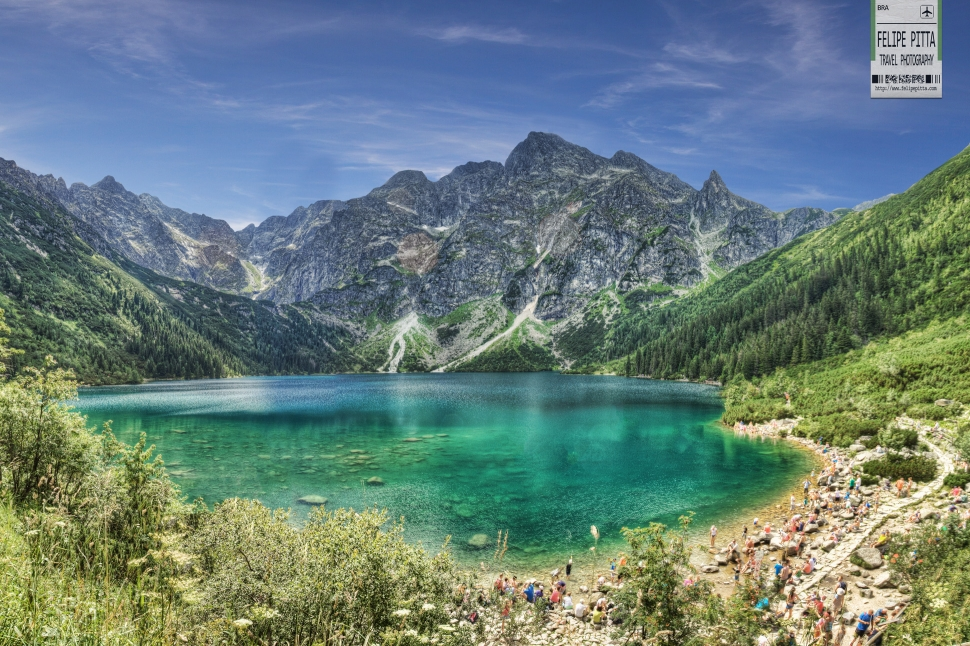 Morskie Oko Poland Zakopane Lake Felipe Pitta