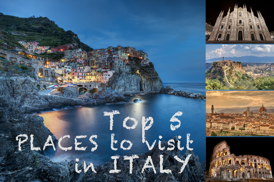 Top 5 places to visit in italy felipe pitta travel for Best places to see in italy